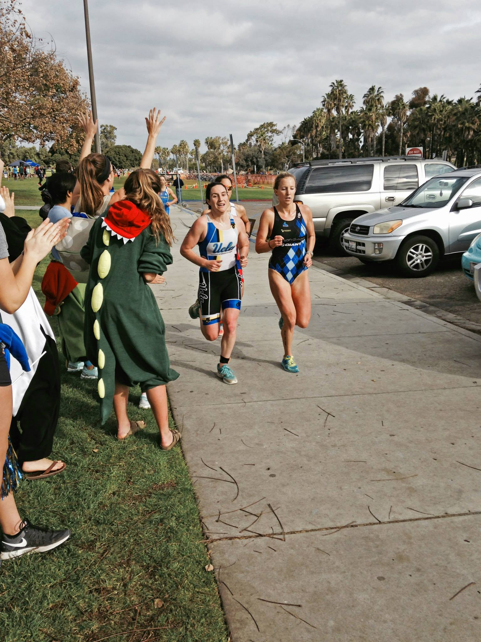 Women on the run at UCSD